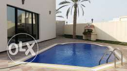 semi furnished villa with pool close to Saudi1100 causeway