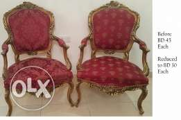 Antique Chairs BD 30 Each