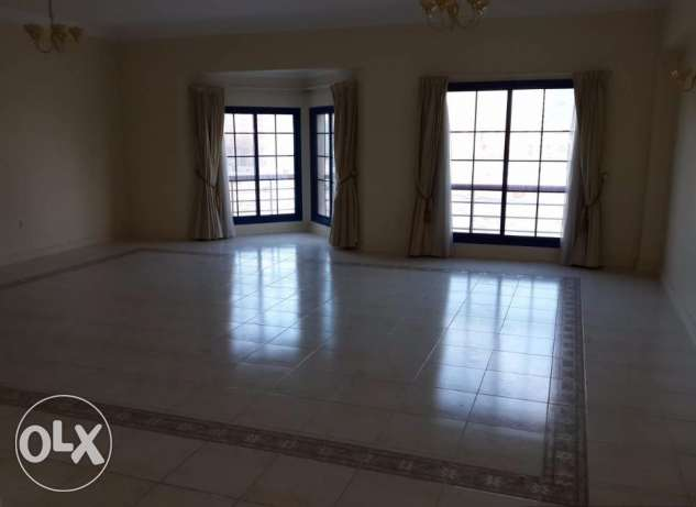 Seef semi furnished 2 BR flat for rent - central AC- inclusive
