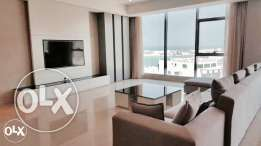 Amwaj. Brand new executive three bedroom fully furnished apartment