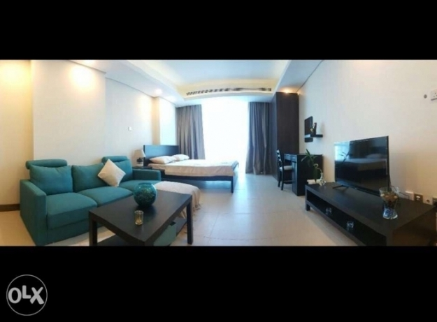 New studio apartment for rent or sale in Busaiteen close to RCSI &KHUH