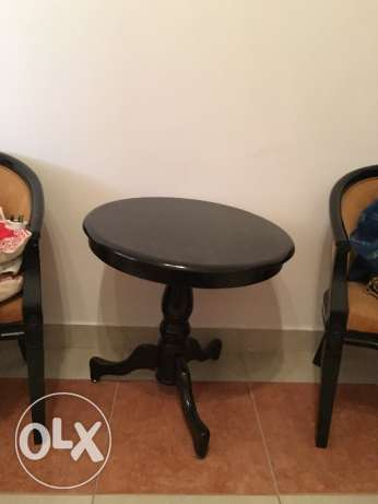 Coffee table with chairs on sale سار -  3