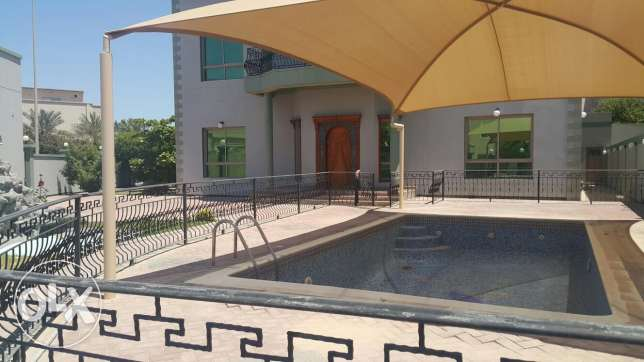 Luxury 5 BRS Semi-furnished Villa for rent in Janabiyah
