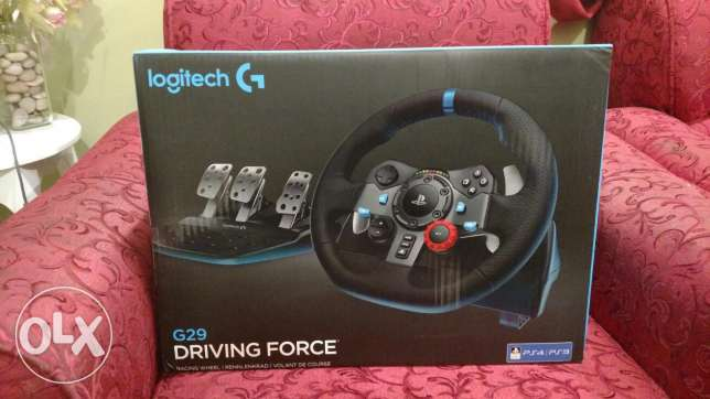 2 Logitech G29 Racing wheel and shifter Brand new