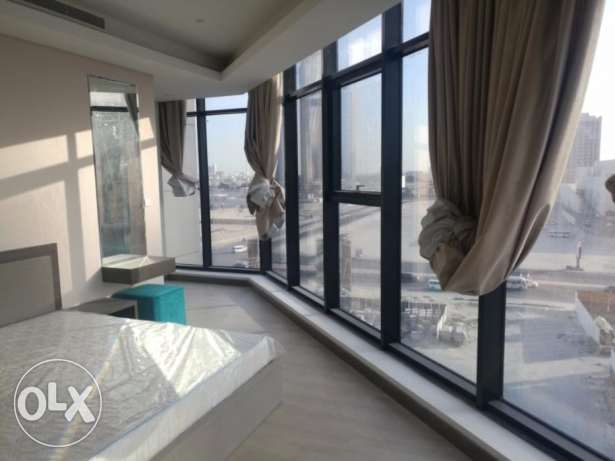 Modern style 1 bedroom flat with sea view for rent at Seef