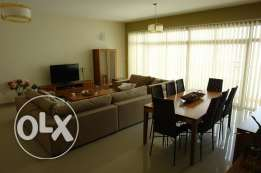 Modern 3 BR+Maid room fully furnished sea view flat - all inclusive