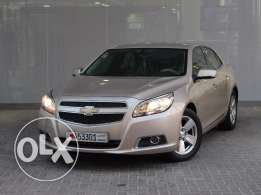Chevrolet Malibu 2.4 LT 2013 Gold For Sale