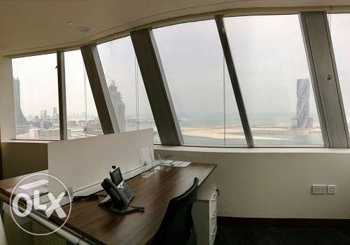 Full fitted Amazing sea view office at BAH WORLD TRADE CEN BD. 500 Inc