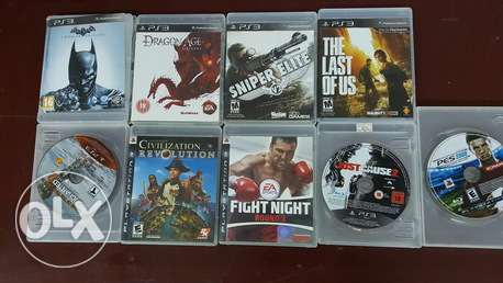 Original PS3 games for sale or exchange