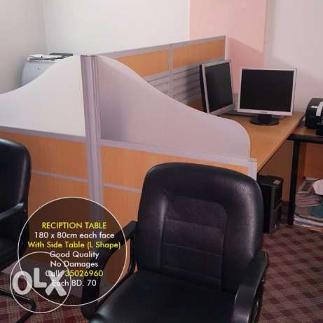 Clean and New Office Furniture for Sale
