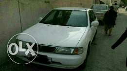Nissan sunny 97 modal in very good condition with one year passing