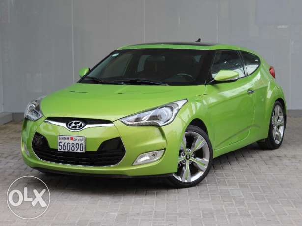 Hyundai Veloster 2015 Green For Sale
