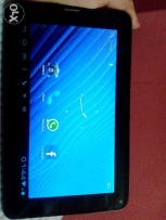 X-Tab Calling along with blue bookcover and screen protector for sale