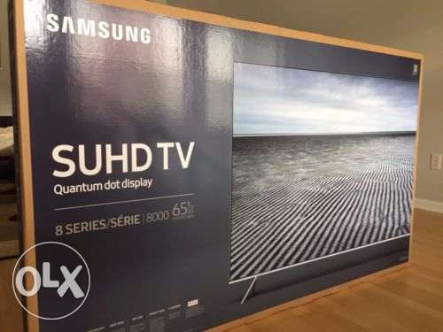 Samsung 65 inch SUHD Smart Curved TV new and original