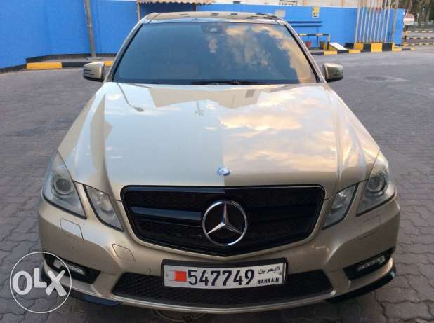 For Sale 2011 Mercedes Benz E300 AMG Bahrain Agency