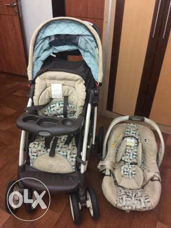 Baby stroller with car seat..GRACO