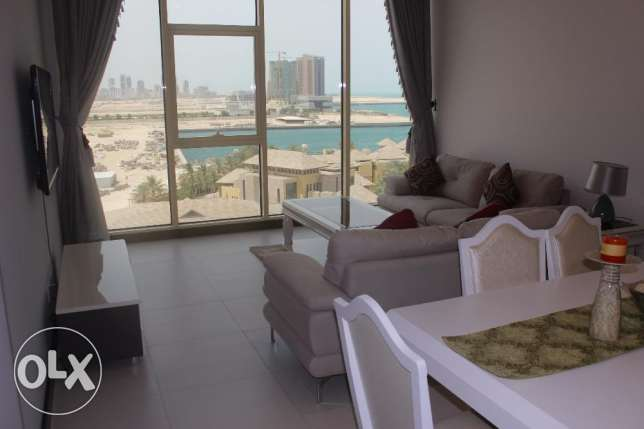 Gorgeous Sea view 2 BR in Seef