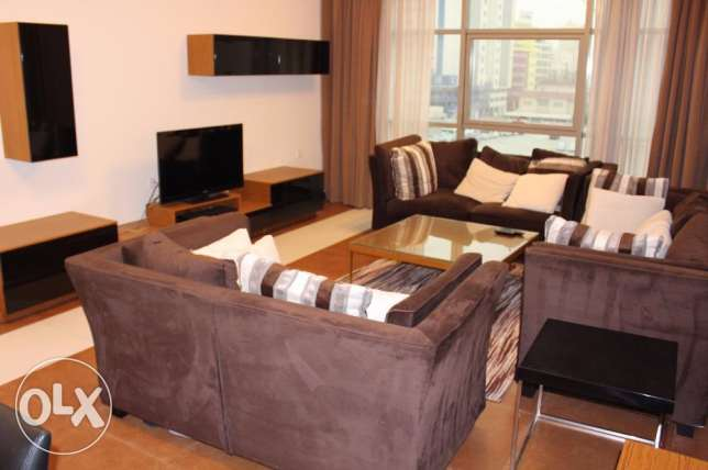 In Juffair family flat for rent 2 bedroom f-furnished