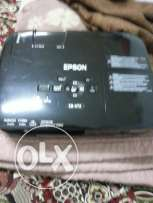Epson projector very good condition only 40bd