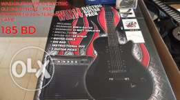 Washburn Electric Guitar + PS3 Teaching Bundle