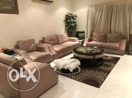 sofa set premium 3+2+1+1, BD 100 only. urgent selling