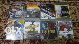 For Sale PS3 8 Games In Excellent Condition Going Cheap