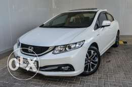 Honda civic 1.8 4DR with sunroof