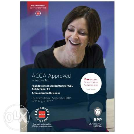 Acca f1/fab book and revision kit