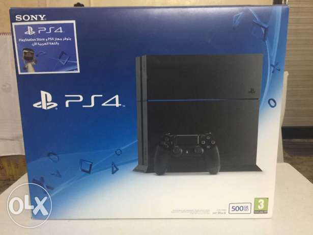 PS4 new + 3 games