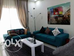 Brand new Fully furnished Apartment in Amwaj/ open kitchen