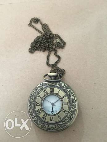 Antique bronze watch vintage