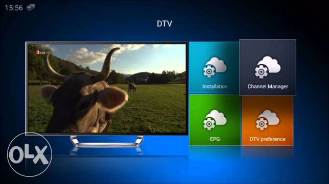 New Iptv android box with out Dish 580 channels توبلي -  6