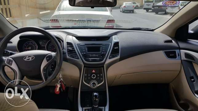 Hyundai Elantra 2015 SEP, Coffee Brown Color المنامة -  1