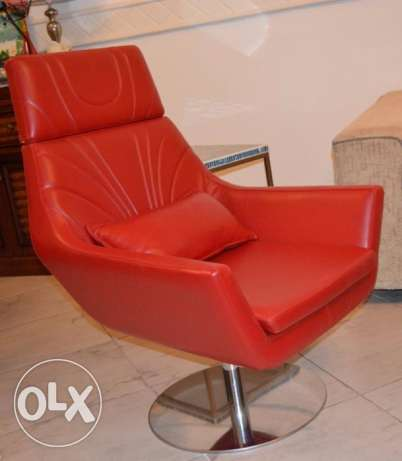 real leather seats extra good condition-office of home use