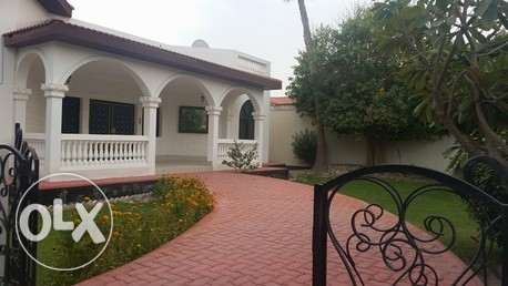 semi furnished compound villa close to KSA