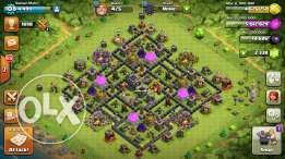 Coc town hall 9 max!