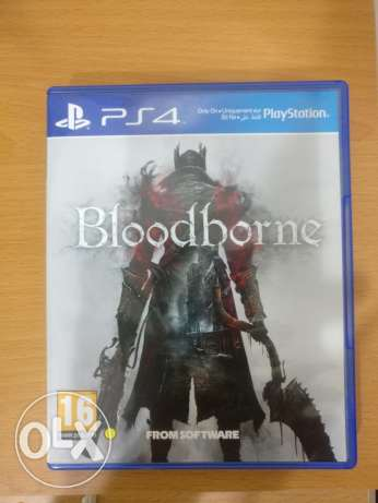 Blood borne for ps4 like New