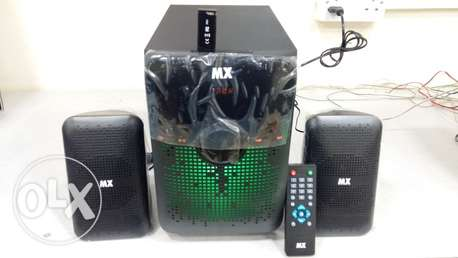 New 2.1 Channel Usb Bass Music System Boxpack