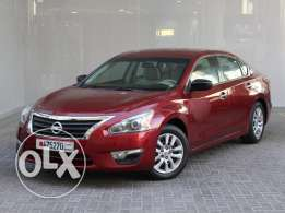 Nissan Altima S 2.5L 2013 red for Sale