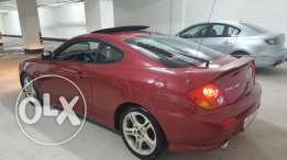 Hyundai coupe 2005 full option for sale