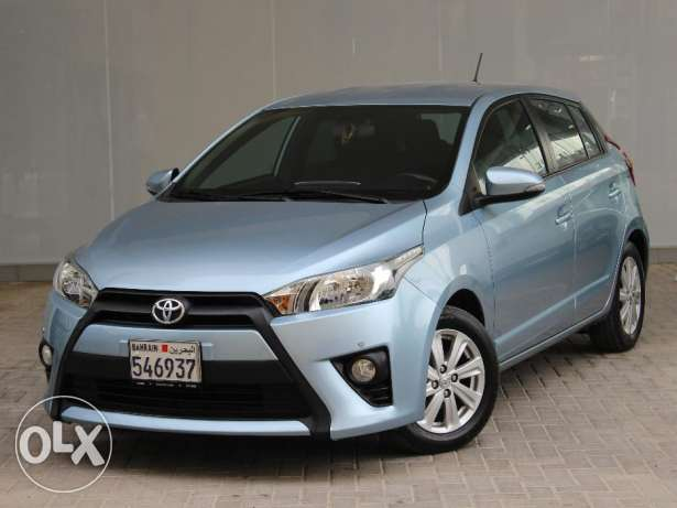 Toyota Yaris 2016 Blue For Sale