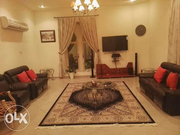 New Qalali: 3 bedroom fully furnished villa for rent with swiming pool