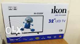"New 32"" LED TV boxpack with warranty 1 year"