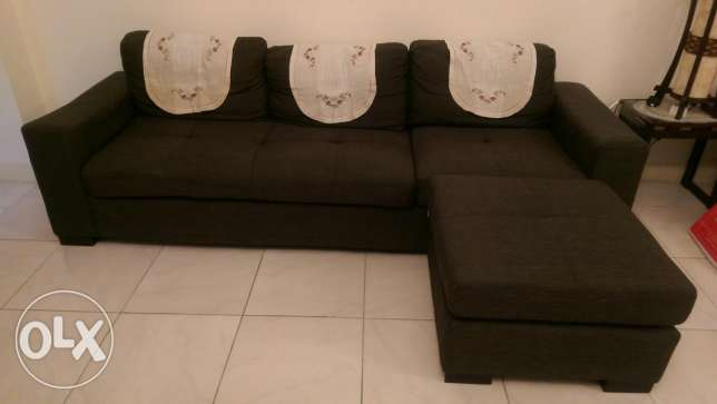 3 seater sofa with single seat