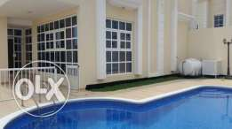 brand new semi furnished villa with private pool