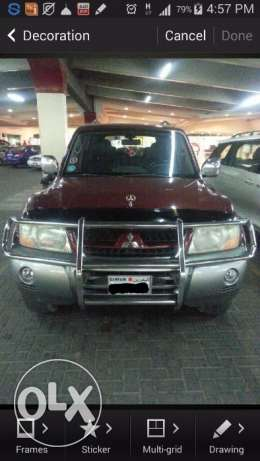 Mitsubishi Pajero good condition