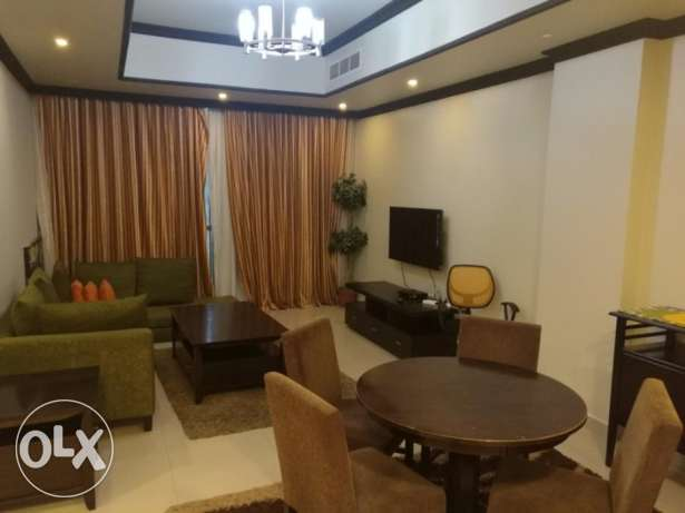 Modern style Fully Furnished 2 Bedroom apartment for rent at Busaiteen
