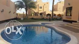 semi furnished compound villa close to saudi causeway