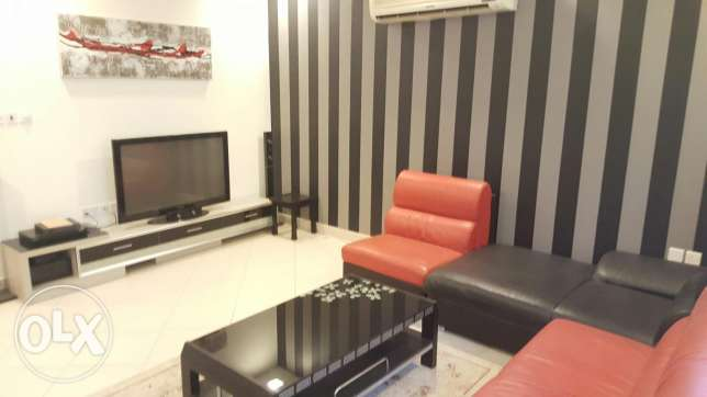 Modern 2 BR flat fully furnished