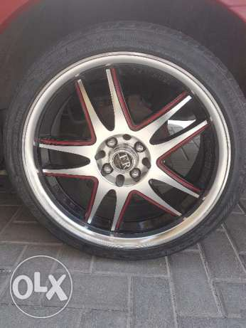 Allow wheels all types of cars 17 inch